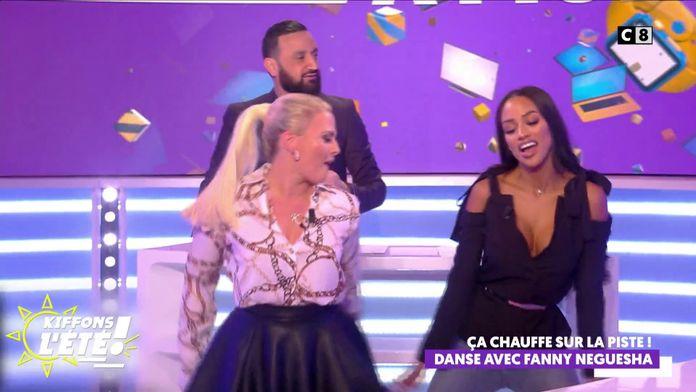 Les chroniqueurs dansent avec Fanny Neguesha