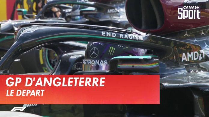 Le départ du Grand prix d'Angleterre : Formule 1
