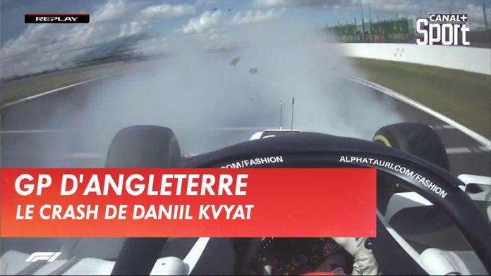 L'énorme crash de Daniil Kvyat : Formule 1