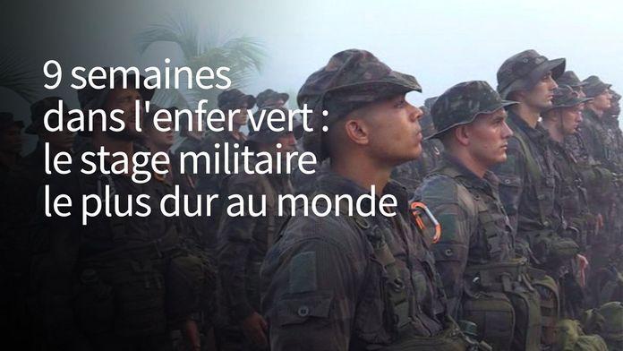 9 semaines dans l'enfer vert : le stage militaire le plus dur au monde