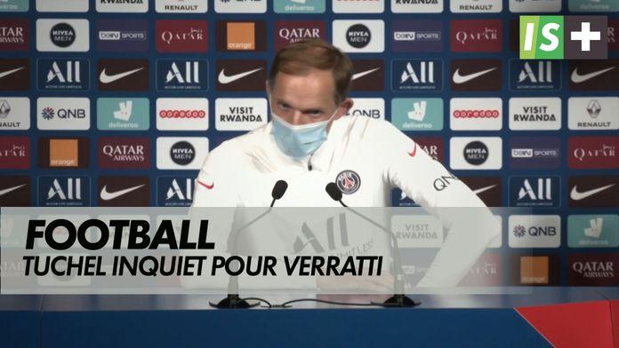 """Tuchel : """"Nous sommes inquiets pour Marco Verratti"""" : Football"""