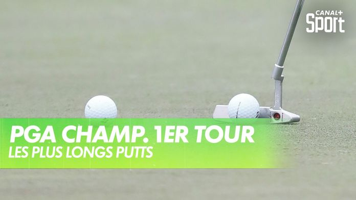 Les plus longs putts de la journée : PGA Championship 2020 - 1er Tour