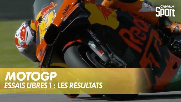 Moto GP : les résultats des essais libres 1 : MotoGP