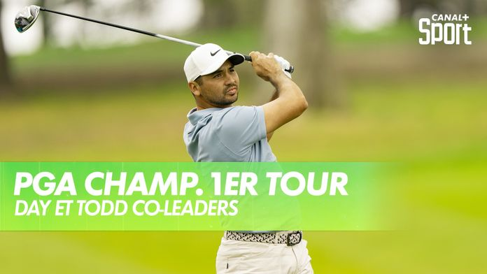 Jason Day et Brendon Todd co-leaders : PGA Championship 2020 - 1er Tour