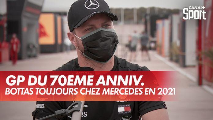 Bottas toujours chez Mercedes en 2021 : Grand Prix du 70ème anniversaire