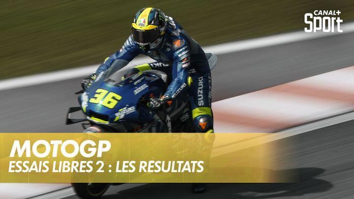 Moto GP : les résultats des essais libres 2 : MotoGP