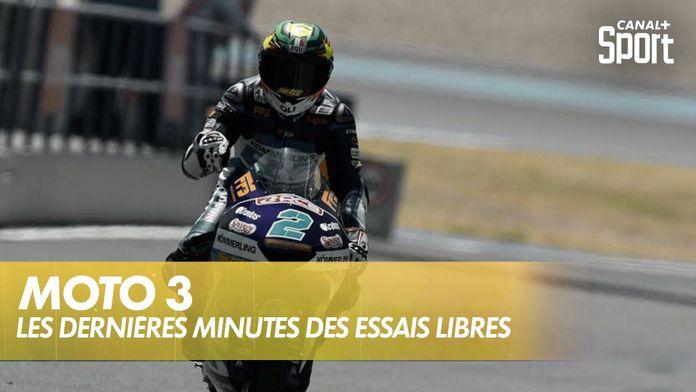 Moto 3 : les dernières minutes des essais 3 : Moto 3