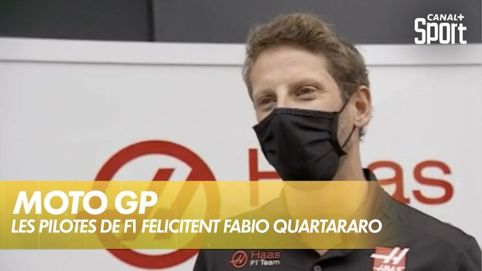 La F1 aime le Moto GP ! : MotoGP