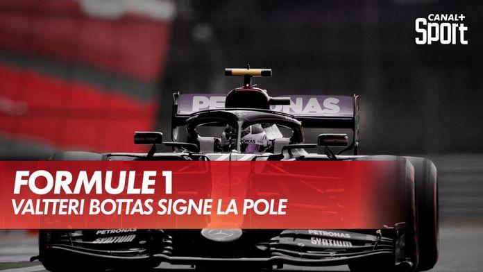 Valtteri Bottas est en pôle : Grand Prix du 70ème anniversaire