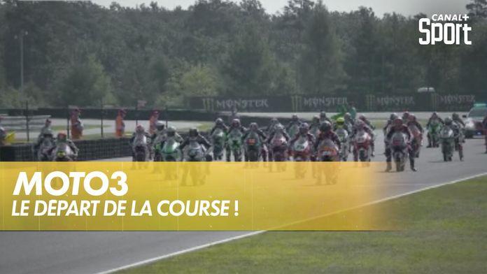 Moto 3 : le départ de la course ! : Moto 3