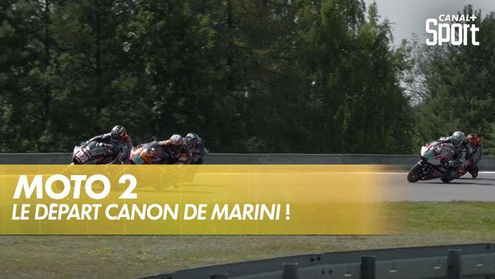 Le départ canon de Marini ! : Moto 2