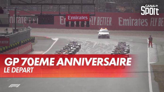Le départ de la course : Grand Prix du 70ème anniversaire