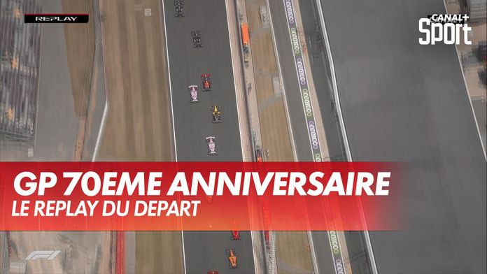 Le replay du départ : Grand Prix du 70ème anniversaire
