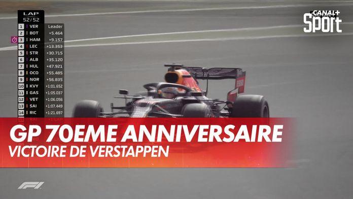 Victoire de Max Verstappen : Grand Prix du 70ème anniversaire