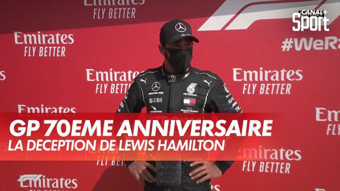 """Lewis Hamilton : """"Le premier relais a été compliqué"""" : Grand Prix du 70ème anniversaire"""