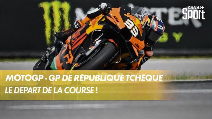 Le départ de la course : MotoGP