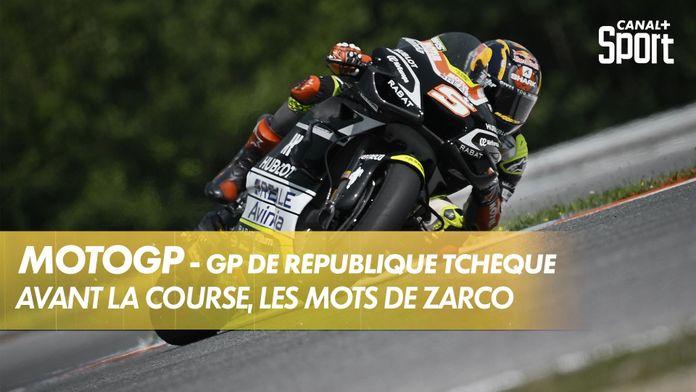Avant la course, les mots de Johann Zarco : MotoGP