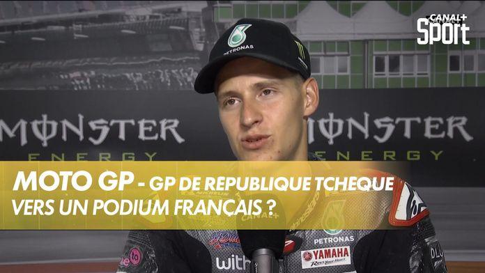 Un podium Français ? : MotoGP