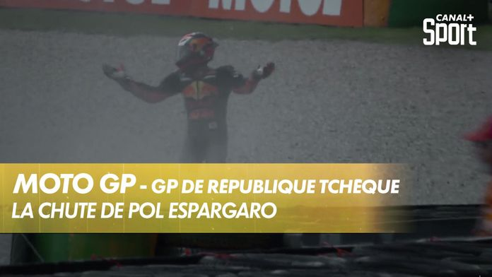 La chute de Pol Espargaró! : MotoGP