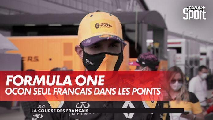 Ocon seul français dans les points : Grand Prix du 70ème anniversaire