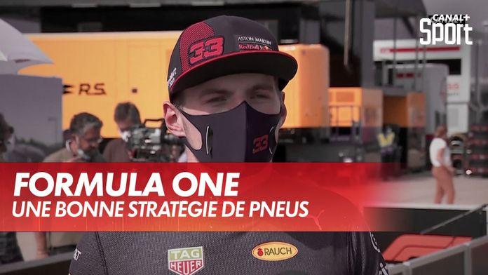 Une bonne stratégie de pneus : Grand Prix du 70ème anniversaire