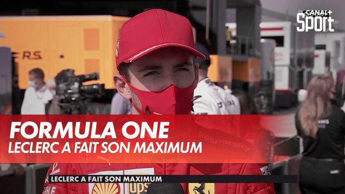 """Charles Leclerc : """"C'est plus une victoire qu'un podium"""" : Grand Prix du 70ème anniversaire"""