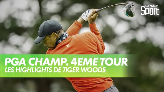 Les highlights de Tiger Woods : PGA Championship 2020 - Dernier Tour