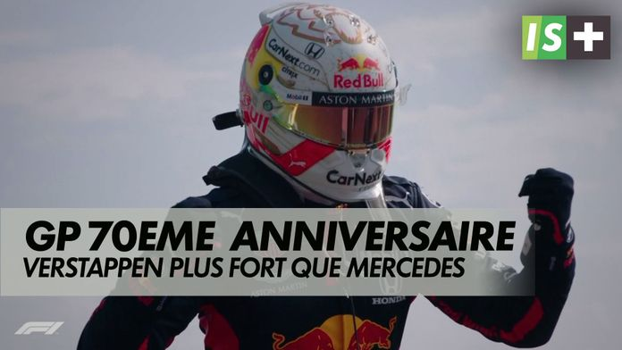Verstappen plus fort que Mercedes : GP du 70ème anniversaire