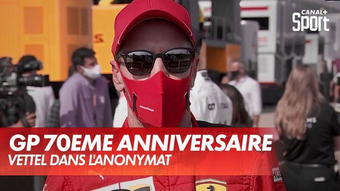 Vettel dans l'anonymat : Grand Prix du 70ème anniversaire
