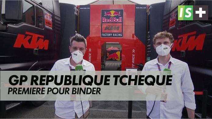 Première pour Binder : Grand prix République tchèque