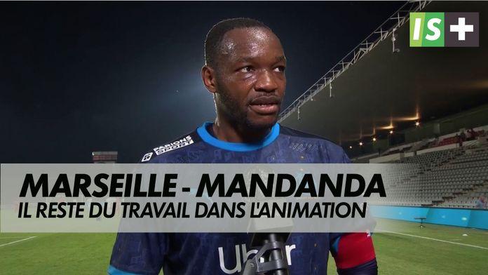 """Mandanda : """"Il reste du travail dans l'animation offensive"""" : Amical Nîmes Marseille"""