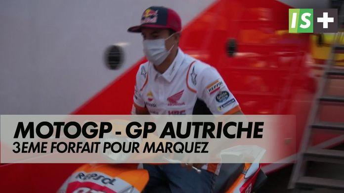 3ème forfait pour marc Marquez : Grand prix d'Autriche