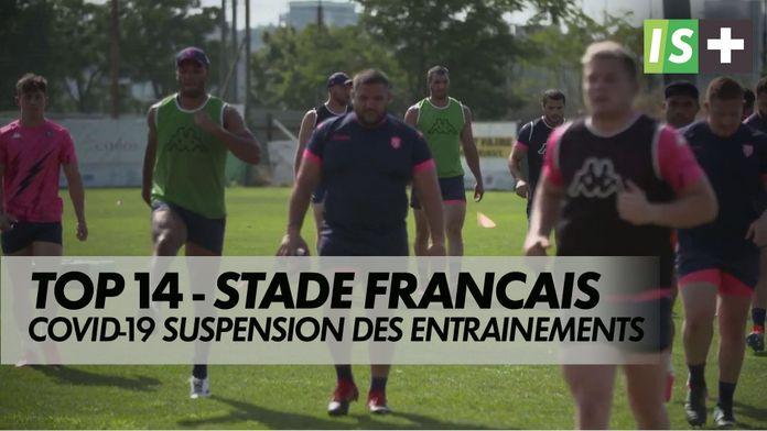 Suspension des entraînements pour le Stade français : TOP 14 - Covid-19