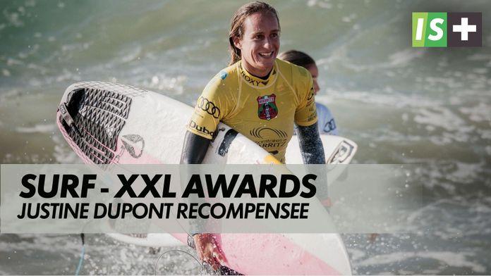 Justine Dupont récompensée aux XXL Awards : Surf - XXL Awards