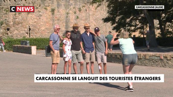 Carcassonne se languit des touristes étrangers