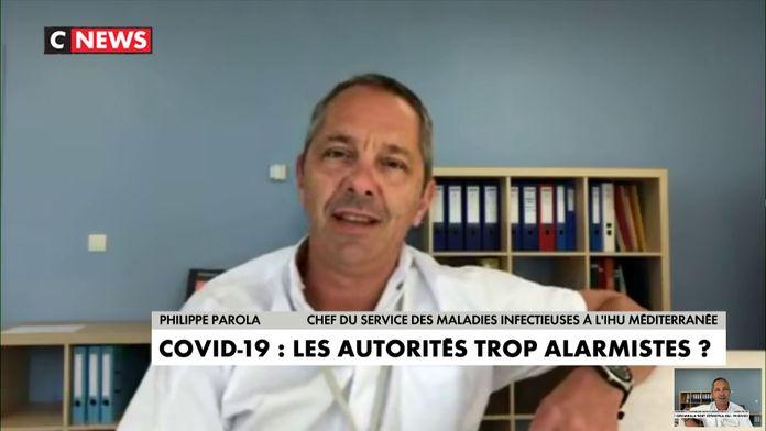 «J'ai des malades beaucoup plus inquiétants que le Covid», déclare Philippe Parola