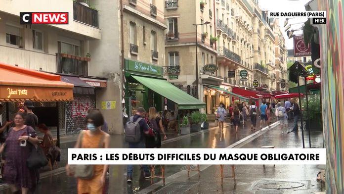 Masque obligatoire : la confusion règne à Paris