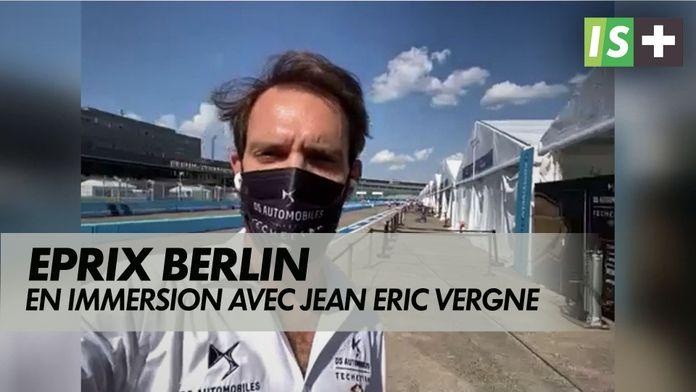 En immersion avec Jean Eric Vergne : Eprix de Berlin ce soir 19H sur CANAL+ Sport