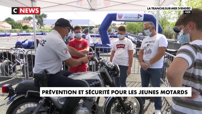 Prévention et sécurité pour les jeunes motards