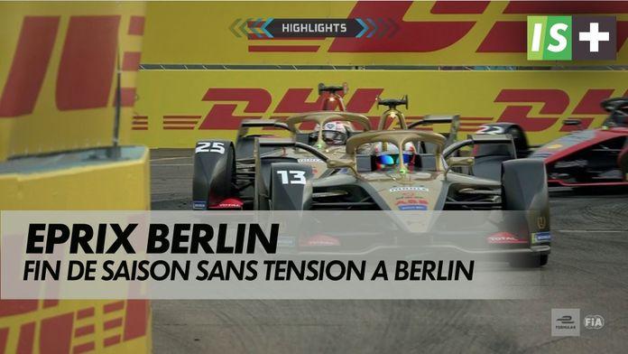 Fin de saison sans tension à Berlin : Formule E - Berlin