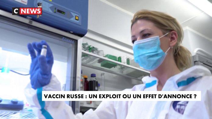 Vaccin russe : le doute des scientifiques