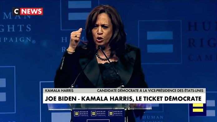 Etats-Unis : Kamala Harris sera la co-listière de Jo Biden