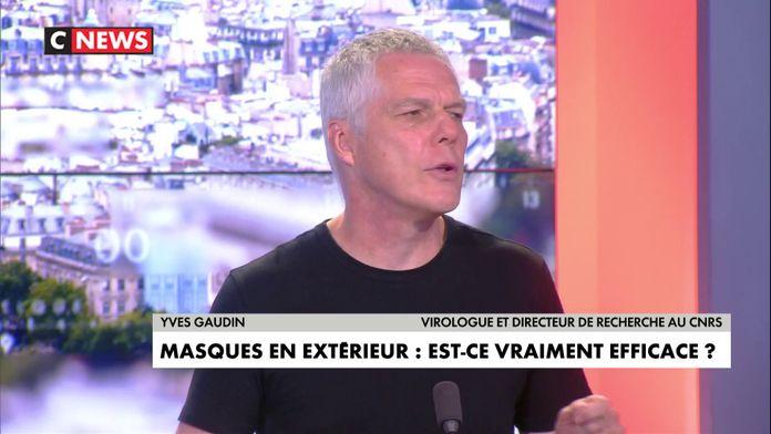 Yves Gaudin : « Le masque généralisé à l'extérieur, c'est probablement excessif. »