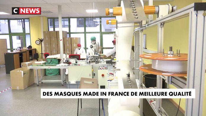 Des masques Made in France de meilleure qualité