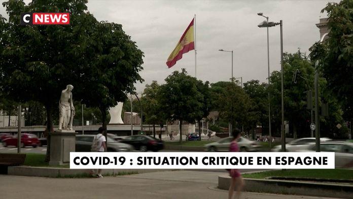 Covid-19 : une situation critique en Espagne