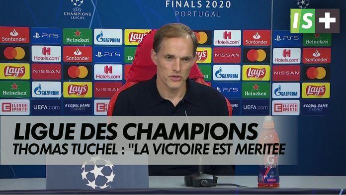 """T.Tuchel : """"Une victoire méritée"""" : Ligue des Champions : Atalanta 1-2 Paris SG"""