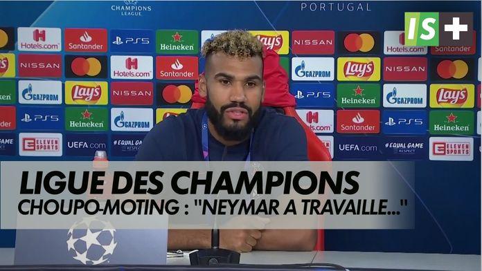 """Choupo-Moting : """"Neymar a travaillé pour l'équipe"""" : Ligue des Champions : Atalanta 1-2 Paris SG"""