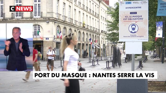 Port du masque : Nantes serre la vis