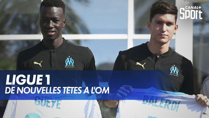 Mercato : de nouvelles têtes à l'OM : Ligue 1 Uber Eats