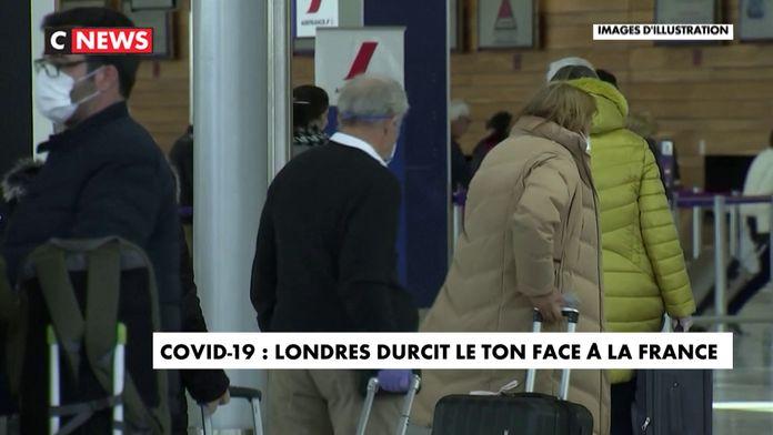 Covid-19 : Londres durcit le ton face à Paris